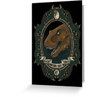 Jurassic Frame Greeting Card
