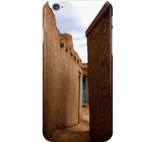 Taos New Mexico Pueblo Zen iPhone Case/Skin