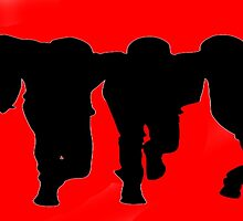Big Time Rush Silhouette by consultingkatie