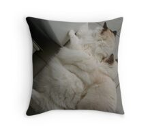 Inseparable Dolls... Throw Pillow