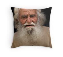 Naxos Elder - Greek Islands Throw Pillow