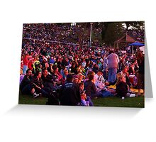 Gathered to Sing - Carols by The Bay Greeting Card