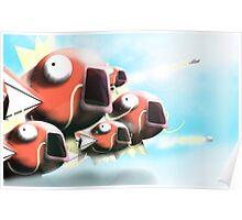 Magikarp Fleet Poster