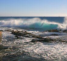 Kailua Bay Breaker by Randy Richards