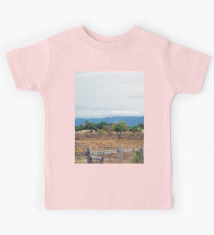 a colourful Guyana landscape Kids Tee