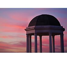 Stawell Lookout Pavilion,Dusk Photographic Print