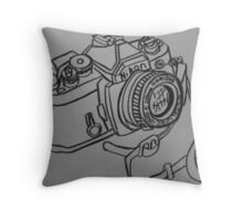 fm angel 50mm Throw Pillow