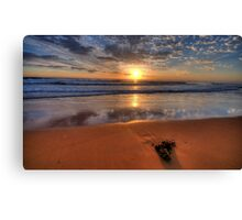 Alone Again Naturally  - Newport Beach, Sydney - The HDR Experience Canvas Print