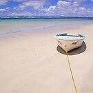The yellow rope, Island Beach, Kangaroo Island by Elana Bailey
