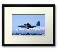 Durango C-130 Touch-and-Go Framed Print