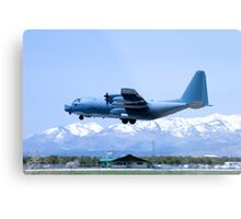 Durango Airplane Touch-and-Go Metal Print