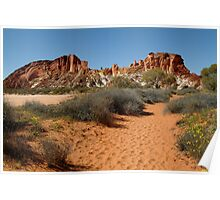 Rainbow Valley, Northern Territory Poster