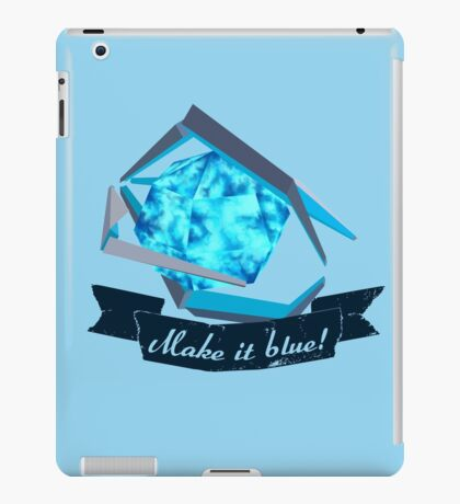 Ada Refactor - Make it blue! iPad Case/Skin