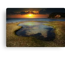 the shallows of heaven Canvas Print