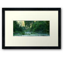 Crooked River,Talbotville Framed Print