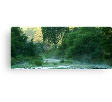 Crooked River,Talbotville Canvas Print