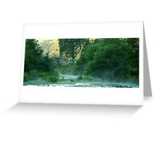 Crooked River,Talbotville Greeting Card