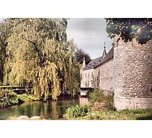 Spontin Castle - Belgium Photographic Print
