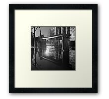 Waterbus Shelter Framed Print