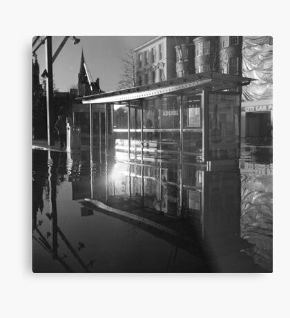 Waterbus Shelter Metal Print