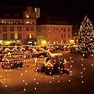The Christmas market in Tallinn by Mariann Rea