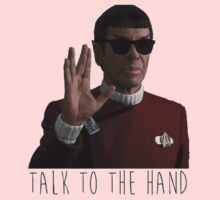 Talk to the Hand - Spock Kids Tee