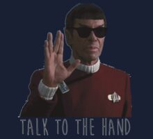 Talk to the Hand - Spock One Piece - Long Sleeve