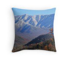 Winter Autumn Throw Pillow