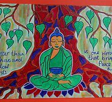 Buddha by happyhArt