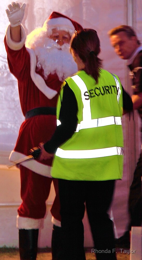 Secure Santa - Carols by the Bay Geelong  by Rhonda F.  Taylor