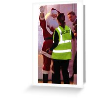 Secure Santa - Carols by the Bay Geelong  Greeting Card