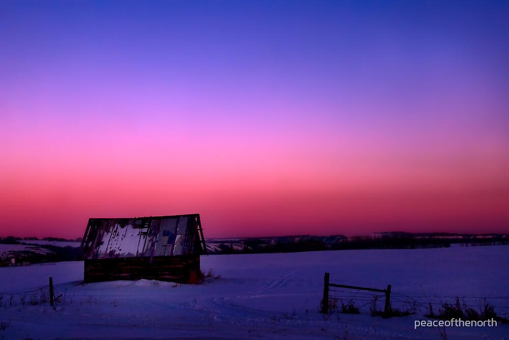 Prairie Dusk by peaceofthenorth