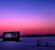 Prairie Dusk by peaceofthenorth