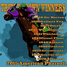 Triple Crown Winners 2015 by Ginny Luttrell