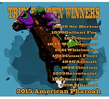 Triple Crown Winners 2015 Photographic Print