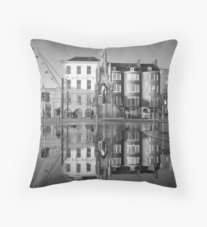Cork Underwater Love Throw Pillow