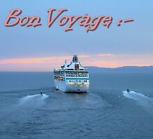Bon Voyage Card 01 by Christopher Biggs