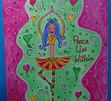 Peace lies within by happyhArt