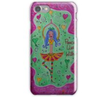 Peace lies within iPhone Case/Skin