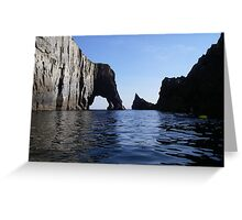 Cow Rock. West Cork Ireland Greeting Card