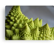 Fractal Broccoli Canvas Print