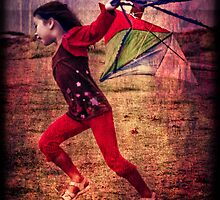 ...the kite... by Geoffrey Dunn