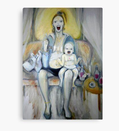 Chav Madonna  Canvas Print