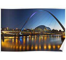 Millenium Bridge, Gateshead Poster