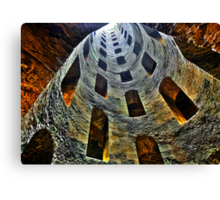 Medieval Well Canvas Print