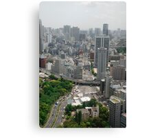 Tokyo Tower View  Canvas Print