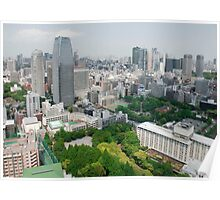 View from Tokyo Tower  Poster