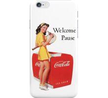 Old Coca Cola Ad 3 iPhone Case/Skin