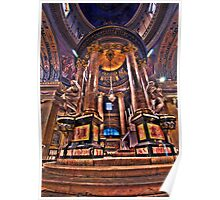 Ornamental Cathedral alter Poster
