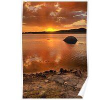 Favourite Fishing Spot, Leslie Dam Poster